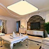 WYBAN LED Deckenleuchte Deckenlampe Wohnzimmer bad Küche Panel Leuchte (24W Warmweiß)