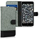 kwmobile Wallet Case for bq Aquaris X2 / X2 Pro - Fabric