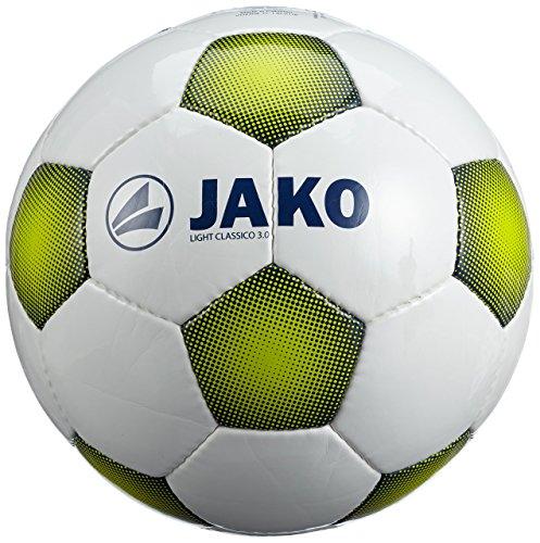 JAKO Ball Light Classico 3.0 Weiß/Night Blue/Lime 5