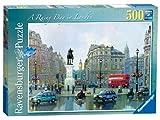 Ravensburger Ein regnerischer Tag in London - 500 Stück Puzzle