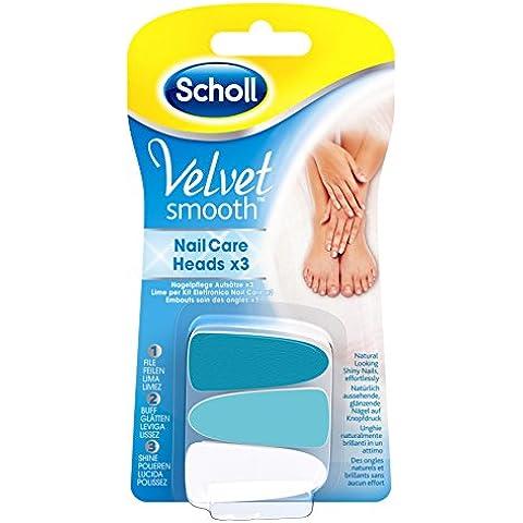 Scholl Velvet Smooth uñas cuidado sistema de recambios