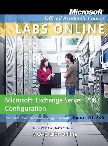 Exam 70-236: MOAC Labs Online por Microsoft Official Academic Course