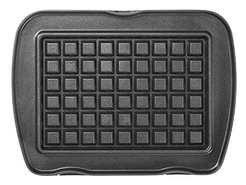 LAGRANGE 010 722 Aluminio Placa para gofres accesorio para gofrera de hierro - Accesorios para gofreras de hierro (Placa para gofres, LAGRANGE, Premium Gaufres, Aluminio, Negro, 253 mm)