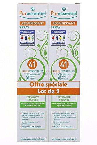 Igienizzante Spray a 41 oli essenziali 200ml confezione di 2 Puressent