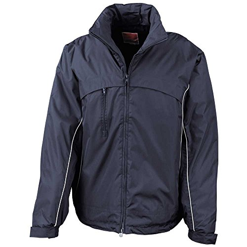 Result Waterproof and Windproof Crew Jacket Navy