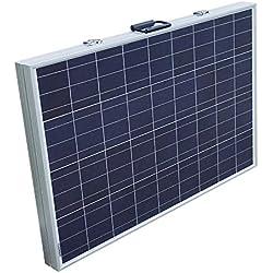 Eco de Worthy panel solar Juego completo-12V Solar cargador de-plegable Módulo Solar-polykristallin células solares 12V para camping caravana Barco