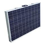 ECO-WORTHY 2 x 100W Solarpanel Komplett Set - 12 Volt Solar-Ladegerät - Faltbar Solarmodul 100w x 2 - Polykristallin Solarzellen 12V für Camping Wohnwagen Boot