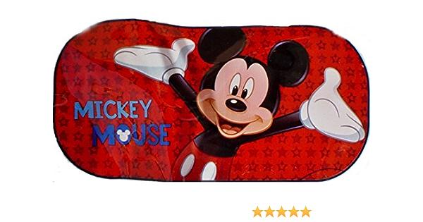 Sambros Car 501 01 Mickey Mouse Auto Zurück Fenster Sonnenschutz Spielzeug