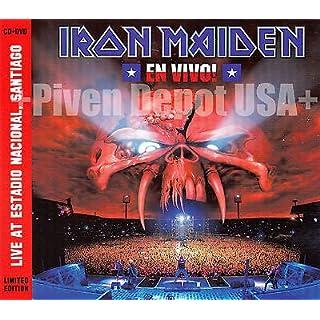 IRON MAIDEN. En Vivo! 2012 (CD+DVD PAL Digipak Limited Edition)