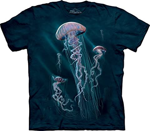 The Mountain - - Jugend Jellyfish T-Shirt, X-Large, Multi