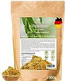 Hanfprotein-Pulver aus Deutschland 1000g - 41% Proteinanteil - Vegan, Glutenfrei, Ideal zum Backen als glutenfreies Mehl, Ernte DE 2017, Hanfsamenprotein, Proteinpulver aus Nutzhanf