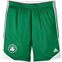 adidas Winter Hoops - Pantaloncini reversibili da uomo Boston Celtics 0b39980b8569
