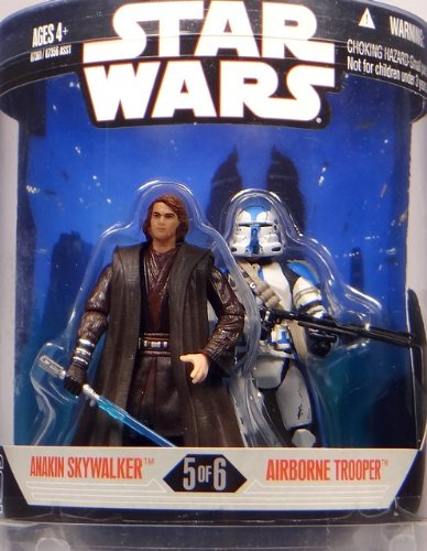 Order 66 Set Anakin Skywalker & Airborne Trooper - Star Wars 30th Anniversary Collection von Hasbro