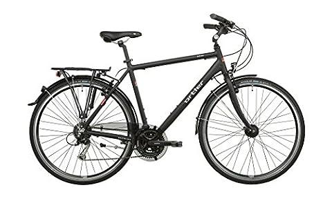 Ortler Mainau Herren schwarz matt Rahmengröße 56 cm 2016 Trekkingrad
