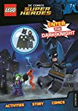 LEGO® DC Comics Super Heroes: Enter the Dark Knight (Activity Book with Batman minifigure)