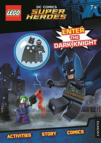 LEGO® DC Comics Super Heroes: Enter the Dark Knight (Activity Book with Batman minifigure) por Egmont Publishing UK