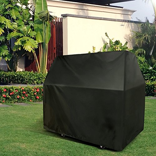 QMQ Barbecue BBQ Cover Heavy Duty Waterproof Grill Protection Large 58-Inch 145cm