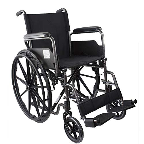 Mobiclinic, Silla de ruedas premium, Plegable, Ruedas...