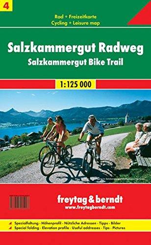 Salzkammergut. Piste ciclabili 1:25.000 di Freytag-Berndt und Artaria KG
