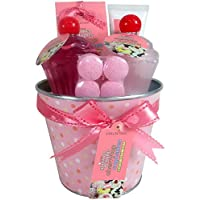 Gloss Delicias Gourmet Gift Set Set bagno ciliegia Cupcakes Top 5 parti, prima Pack (1 x 680 g)