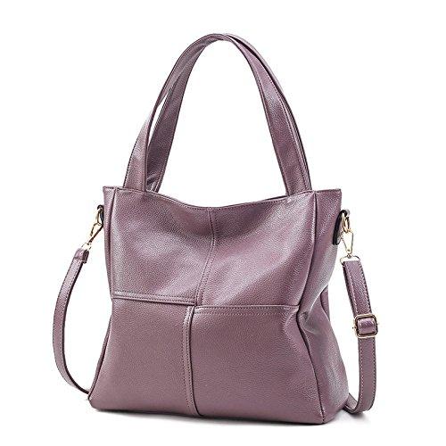 Bucket Mefly Neue Bag Koreanischer Pink Mode Leder Handtasche Nähen ...