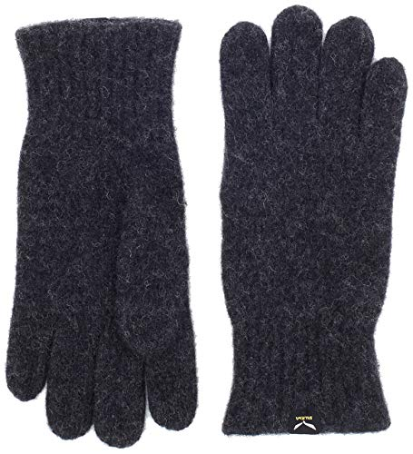 Salewa Damen Walk Wool Gloves Handschuhe, Carbon, L