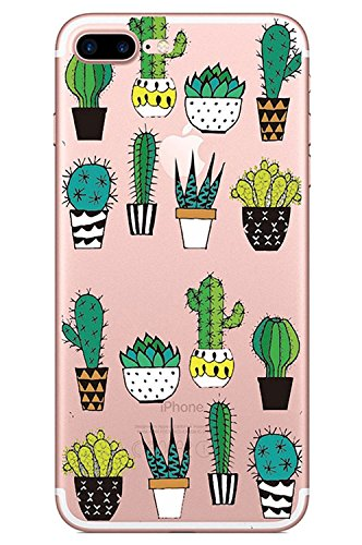 Blitz® KAKTUS Schutz Hülle Transparent TPU Cartoon Comic iPhone  PUNK Ananas M10 iPhone 6 6s Kaktus Friends M3