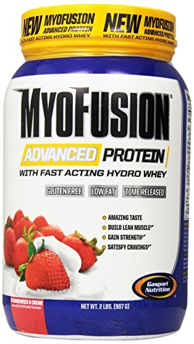 Gaspari Nutrition - Myofusion Advanced 2Lb Strawberry & Cream - 51Agj11sifL