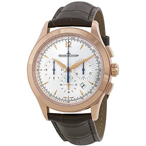 jaeger-lecoultre-mens-master-40mm-brown-leather-band-steel-case-automatic-silver-tone-dial-watch-q15
