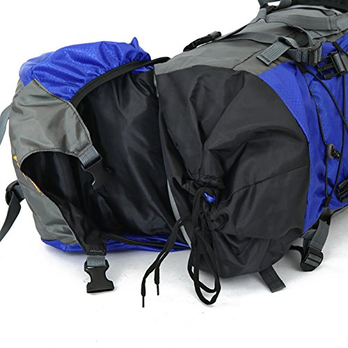 60L Wasserdichtes haltbares im Freien kletternder Rucksack-Beutel-Damen & Herren Wandern athletischer Sport-Spielraum-Rucksack High Quality Green