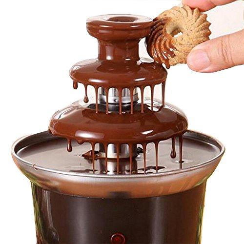 Machine à fondue au chocolat 220V Fondue Maker Chauffé à 3 niveaux Home Home