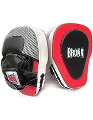 BRONX - EXtreme Elite almohadillas de boxeo Muay Thai - special es juego de almohadillas antideslizantes curvado/funda para raqueta de paddle mano de boxeo para boxeo con base de lanzamiento de Taekwondo/funda para raqueta de paddle Xanda funda para raqueta de Paddle