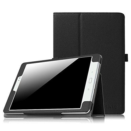 Coque Samsung Galaxy Tab A 9.7 - Fintie Folio Slim-Fit étui Housse Case Cover avec Support et Fonction Sommeil/Réveil Automatique pour Tablette Galaxy Tab A 9.7 SM-T550 / SM-P550 (9.7 Pouces), Noir