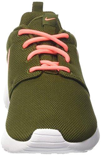 Nike Wmns Roshe One, Scarpe da Ginnastica Donna Verde (Legion Green/Lava Glow/White)