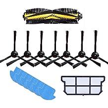 YTT 1x cepillo principal + 6x cepillo lateral + 7x paño de limpieza + 1x kit