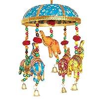 Indian Fabric Hanging Elephants String decoration