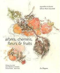 Arbres, chemins, fleurs et fruits