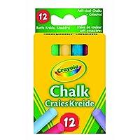 2x Crayola - Anti Dust Assorted Chalk
