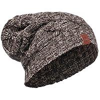 BUFF® SET - KNITTED HAT Gorro de Invierno + UP® Paño tubular | Punto | Alcolchado | Apariencia vintage | Gorro, Buff Knitted:NUBA NUT / 2008.305.10