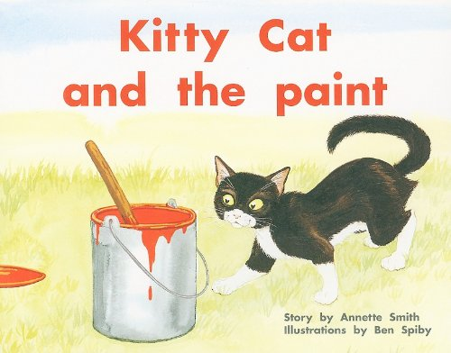 Kitty Cat & the Paint (PM Plus Story Books: Level 9)