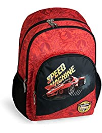 mochila escolar doble HOT WHEELS by DIS2