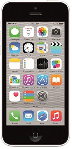 Apple iPhone 5c (White, 8GB)