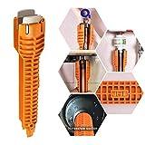 Taottao multifunzionale rubinetto e lavello installatore chiave utensile idraulico con manico antiscivolo