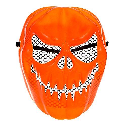 Kürbis Halloween Maske Mit (Halloween Kürbis Masken)