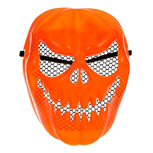 Halloween Costume Cosplay Partito Plastica Zucca Maschera