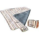 PEARL - Manta para pícnic (enrollable, 200 x 175 cm)