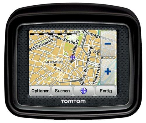 Bild 8: TomTom Urban Rider Central Europe Motorrad-Navigationssystem (8,9 cm (3,5 Zoll) Display, IQ Routes, Fahrspurassistent) mattschwarz