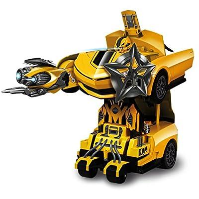 Nikko 4906974200117 920011A - Transformer Bumblebee Robot, Fahrzeug von Nikko
