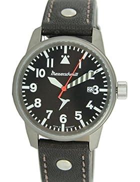 Messerschmitt Me 68Ti–Uhr für Männer, Lederband