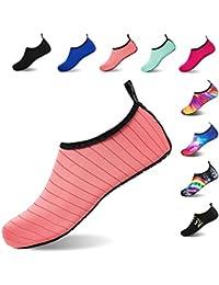 effdc67828ee Water Shoes Barefoot Quick-Dry Slip On Aqua Yoga Beach Surf Swim Socks for  Men